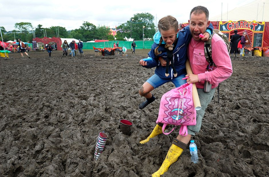 Glastonbury 2016 Sunday - Where's me wellies?!