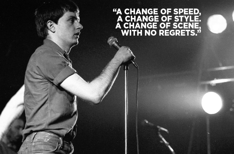 Joy Division Lyrics - New Dawn Fades