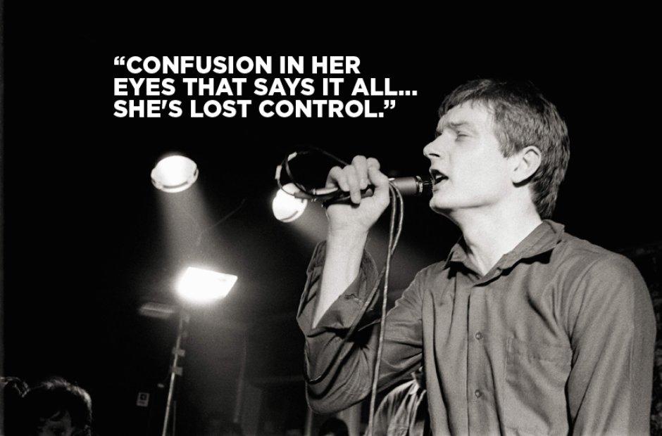 Joy Division Lyrics - She's Lost Control