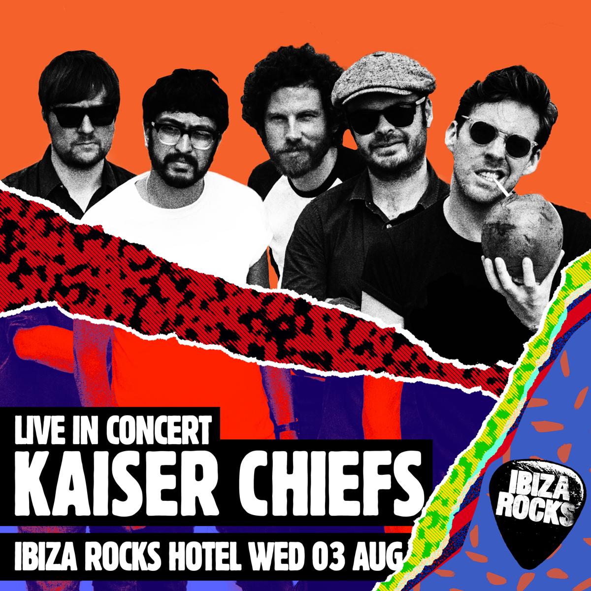 Kaiser Chiefs Ibiza Rocks 2016
