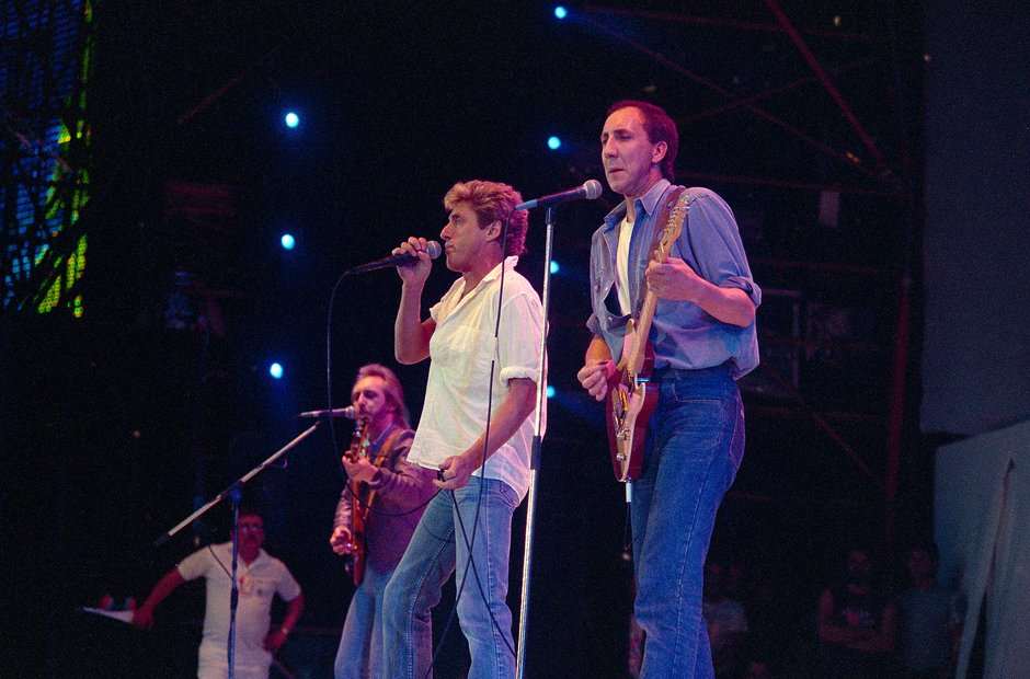 The Who at Live Aid, 1985