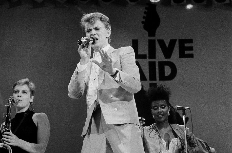 Live Aid Wembley Stadium 13 July 1985