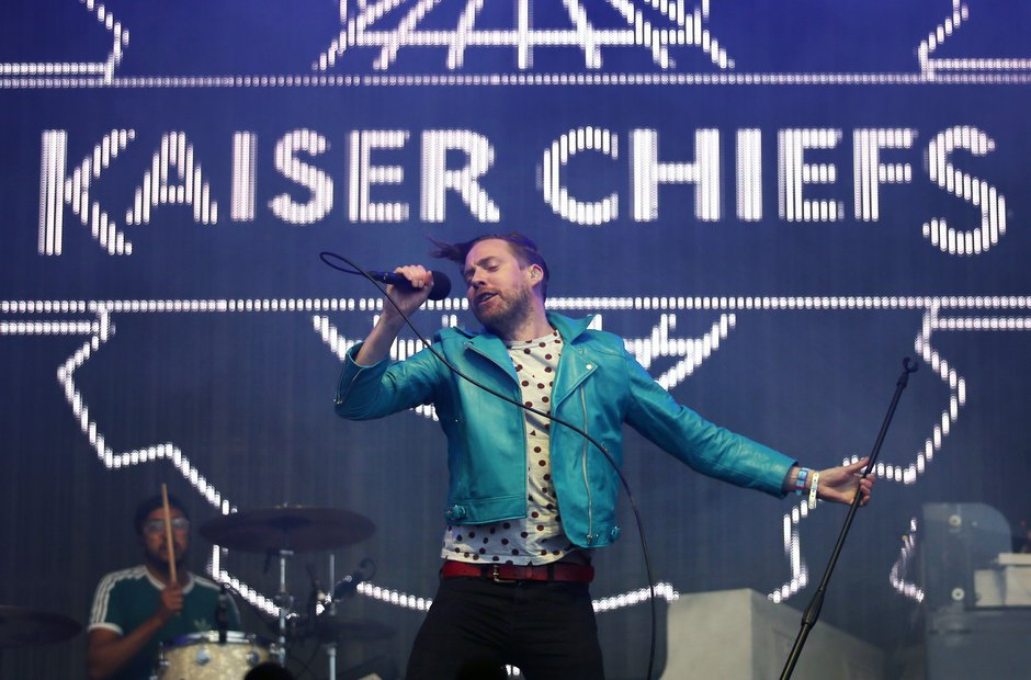 T In The Park 2016 - Kaiser Chiefs with Ricky Wils