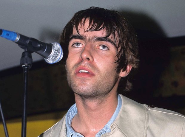 Oasis Be Here Now era images Noel Gallagher Liam G