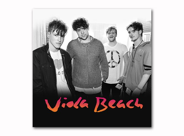 Viola Beach Album with a background