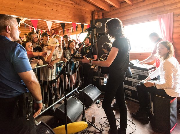 Blossoms Kendal Calling Secret Gig 2016
