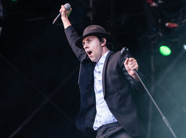 Maximo Park's Paul Smith at Kendall Calling 2016