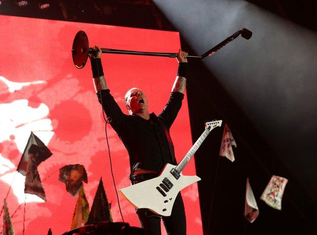What. A. Night. Metallica