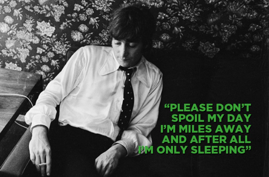 The Beatles - I'm Only Sleeping