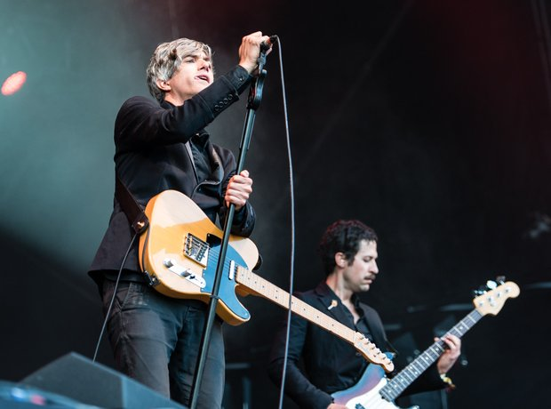 We Are Scientists Kendal Calling Performance 2016
