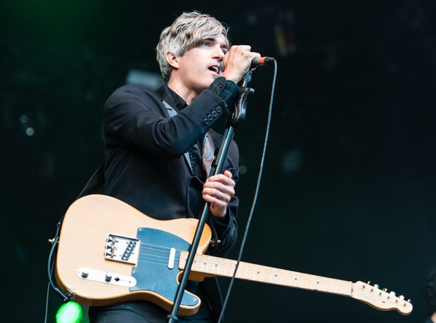 We Are Scientists Kendal Calling Performance Stage