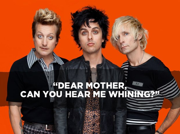Green Day - Welcome To Paradise