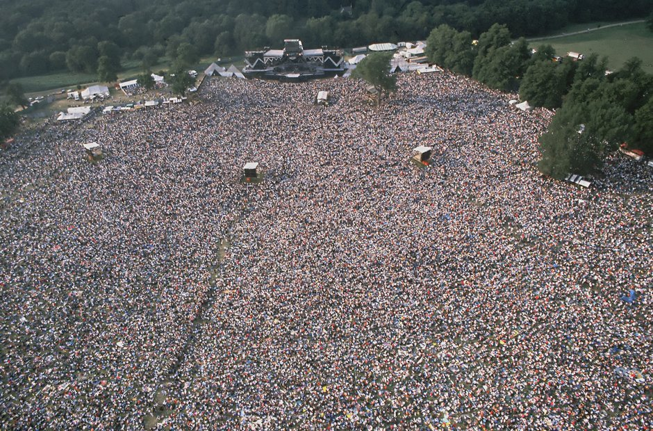 Queen At Knebworth