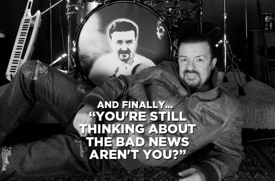 And Finally... from David Brent
