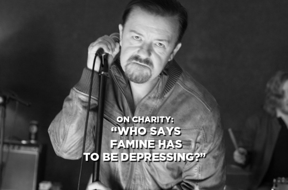 David Brent On Charity