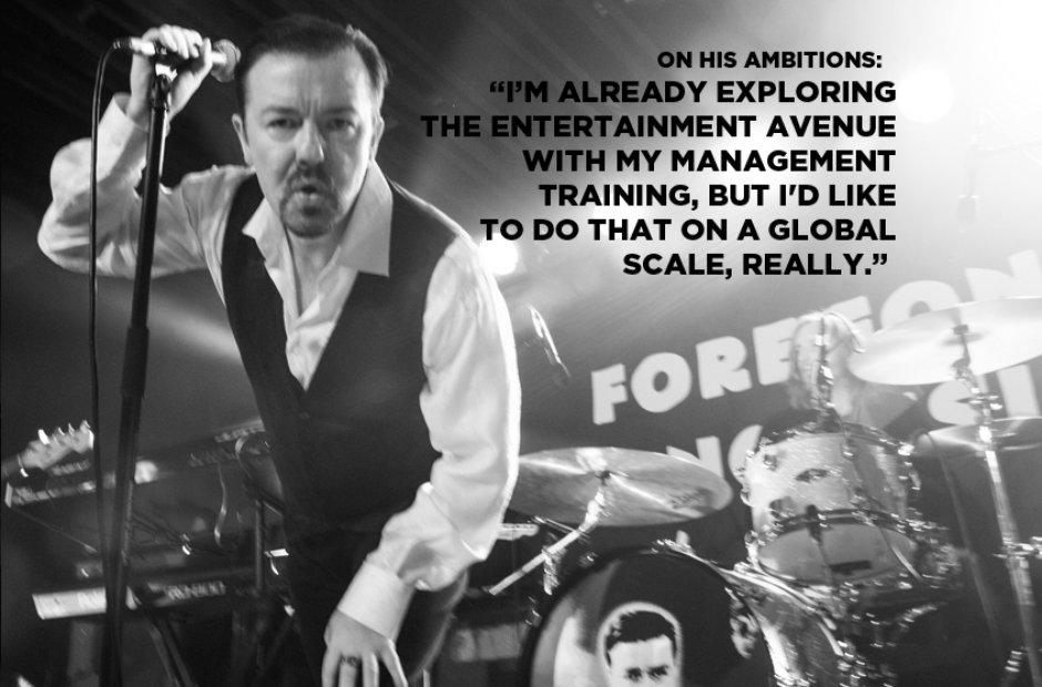 David Brent On His Ambitions