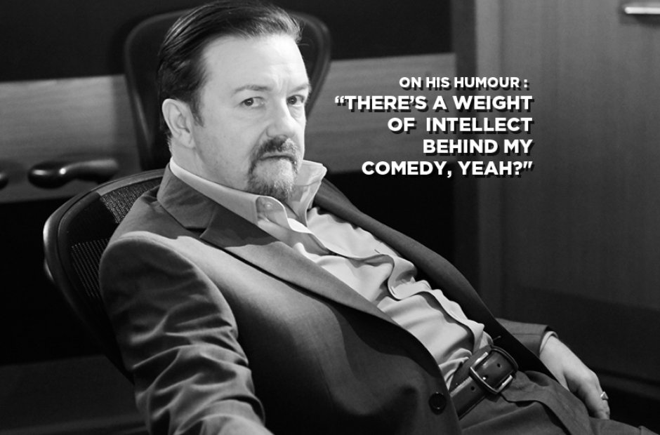 David Brent On His Humour