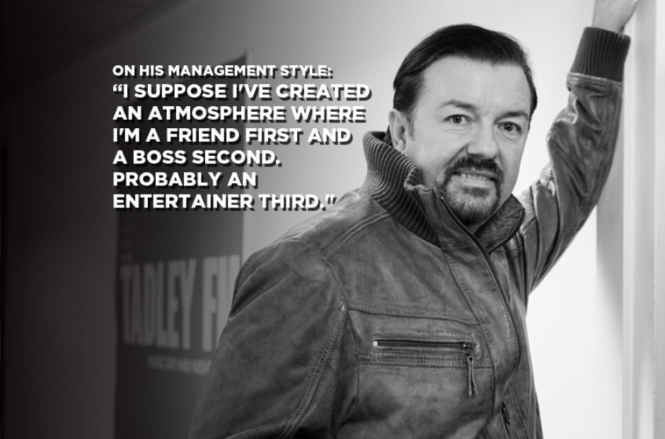 David Brent On His Management Style