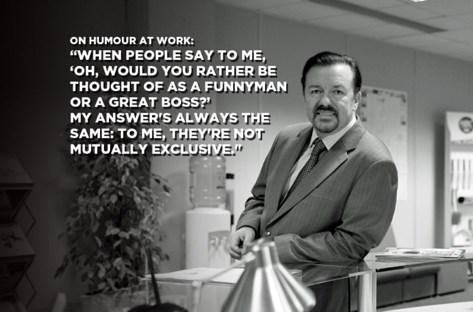 David Brent On Humour At Work