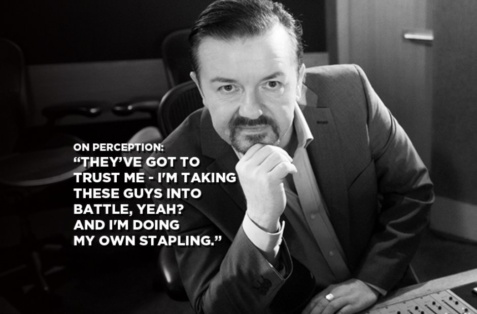 David Brent On Perception
