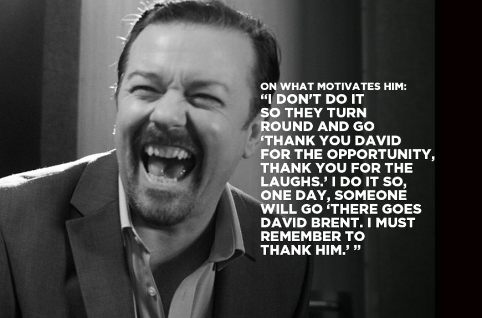 David Brent On What Motivates Him