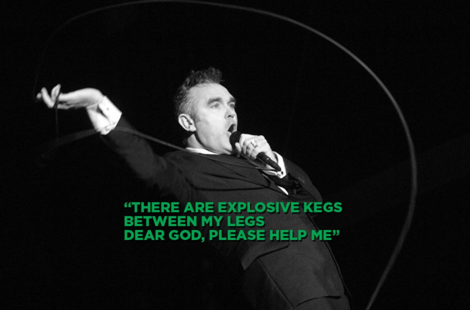 Morrissey - Dear God, Please Help Me