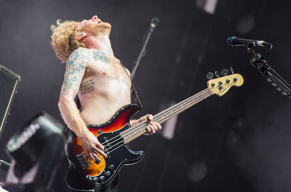 Biffy Clyro at Leeds Festival 2016