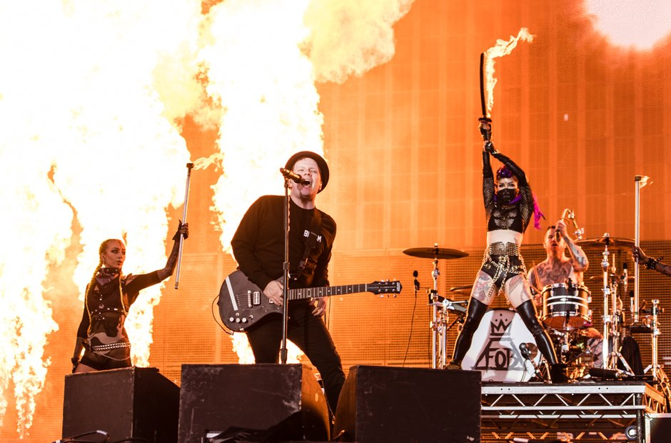 Fall Out Boy at Leeds Festival 2016