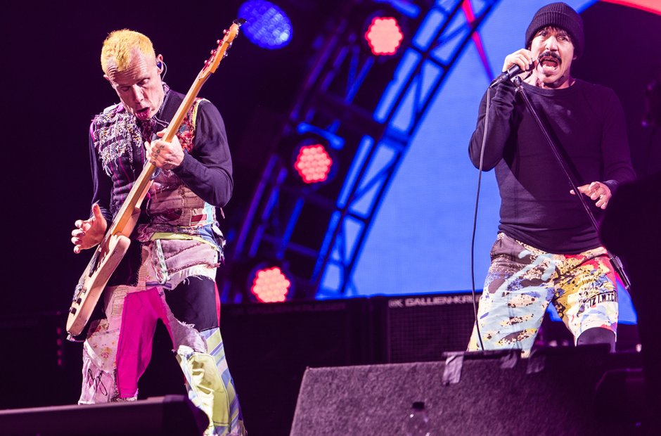 Red Hot Chili Peppers at Leeds Festival 2016