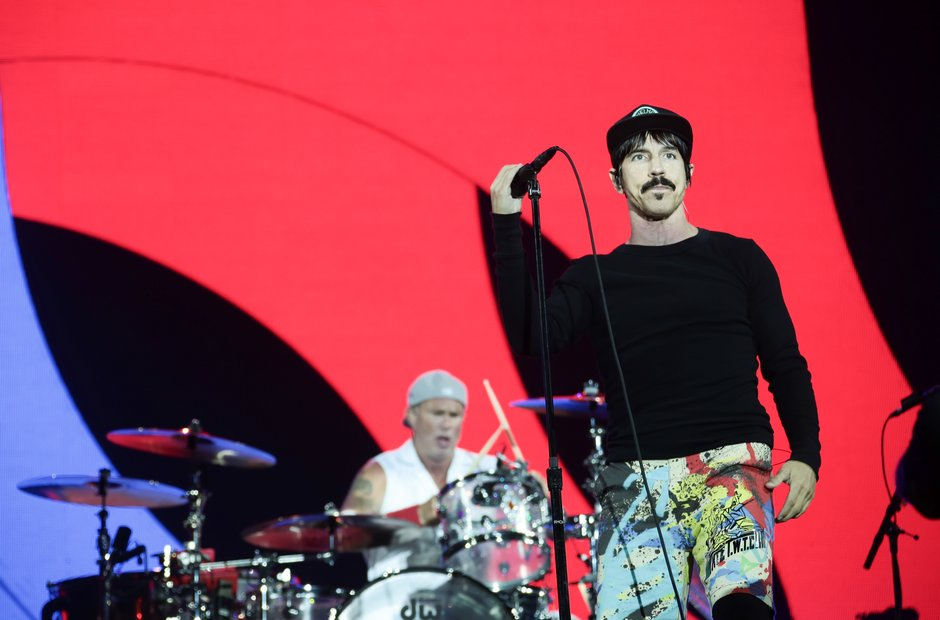Red Hot Chili Peppers at Reading Festival 2016
