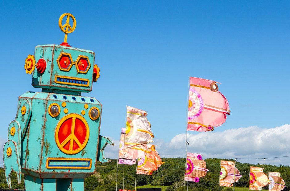 The Giant Bestival Robot