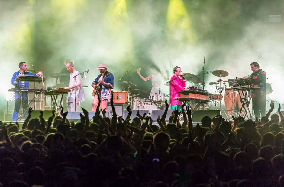 Hot Chip at Bestival 2016