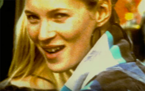 Kate Moss still Supersonic Trailer