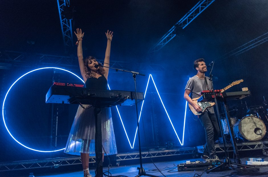 Oh Wonder at Festival No 6 2016