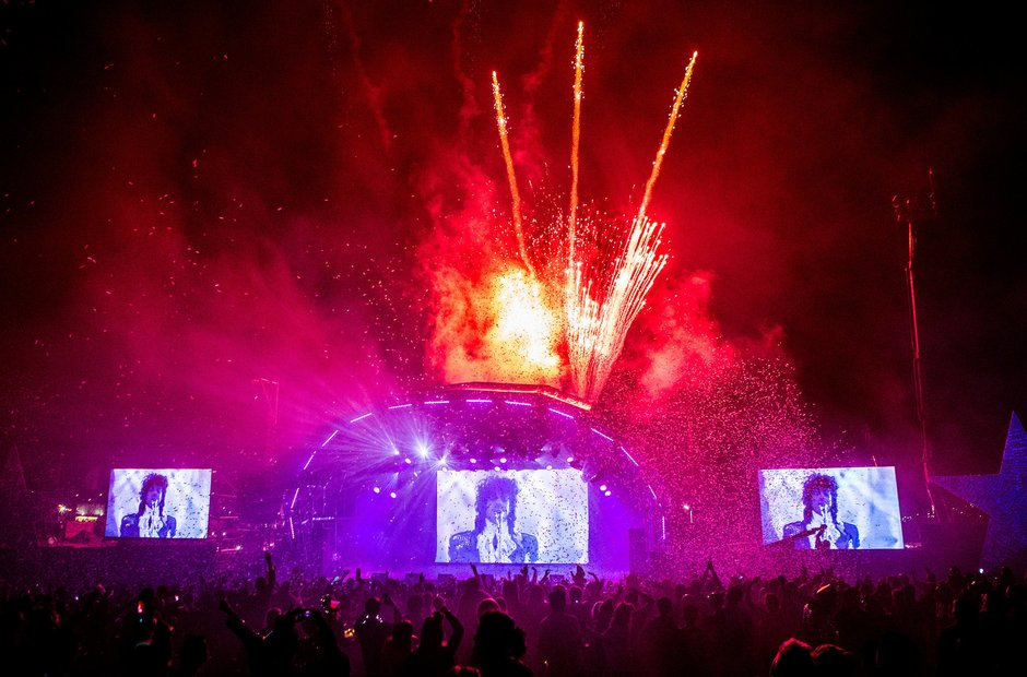 Bestival 2016  - Purple Rave Prince Tribute