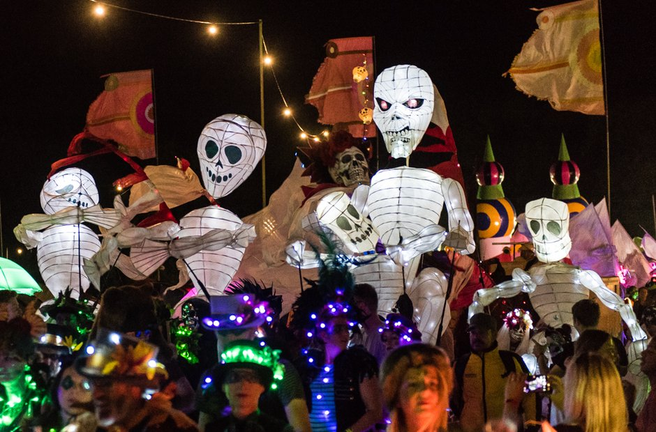 The Night Parade at Bestival 2016