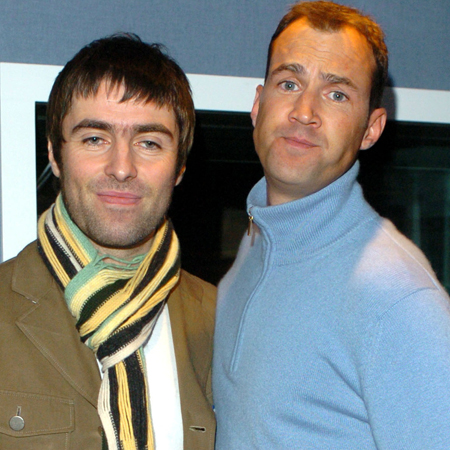 Liam Gallagher and Johnny Vaughan 2005