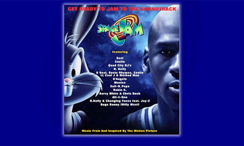 Space Jam website