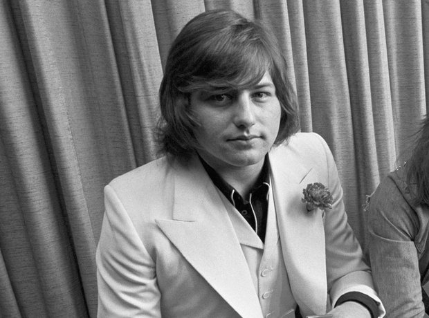 Greg Lake with Emerson, Lake and Palmer in 1972