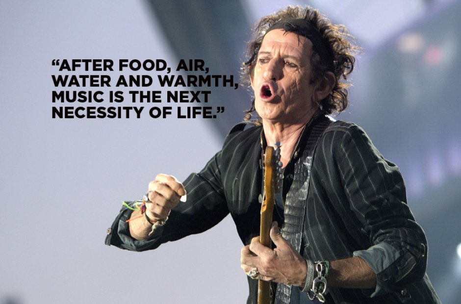Keith Richards' Best Ever Quotes