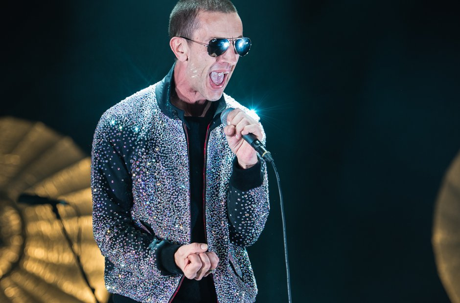 Richard Ashcroft at the Liverpool Echo Arena 7 Dec