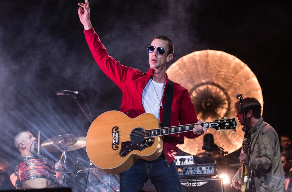 Richard Ashcroft at The O2 9 December 2016