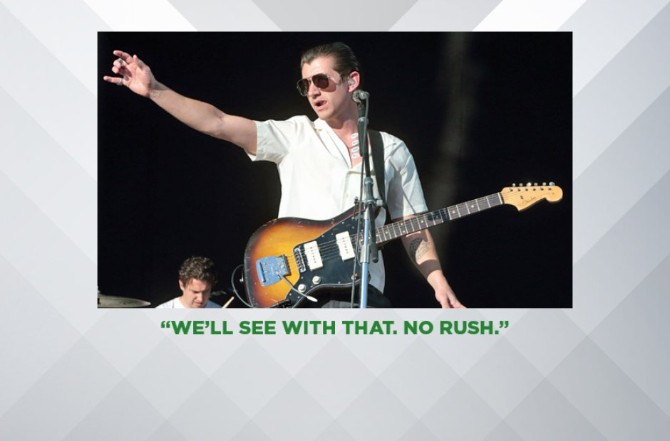 ALEX TURNER ON THE NEW ARCTIC MONKEYS ALBUM, JUNE