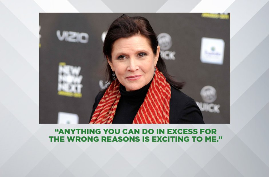 Carrie Fisher: Her Best Quotes