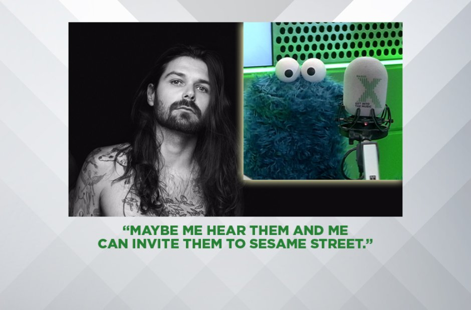 COOKIE MONSTER ON BIFFY CLYRO, NOVEMBER 2016