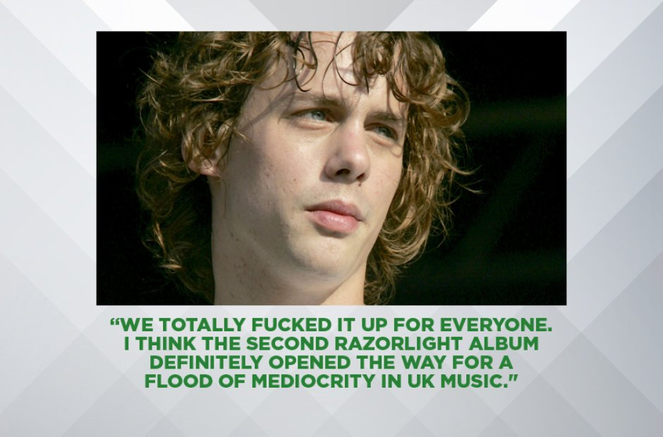 JOHNNY BORRELL ON HOW RAZORLIGHT RUINED INDIE, APR
