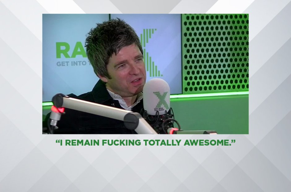 NOEL GALLAGHER ON HIMSELF, JANUARY 2016