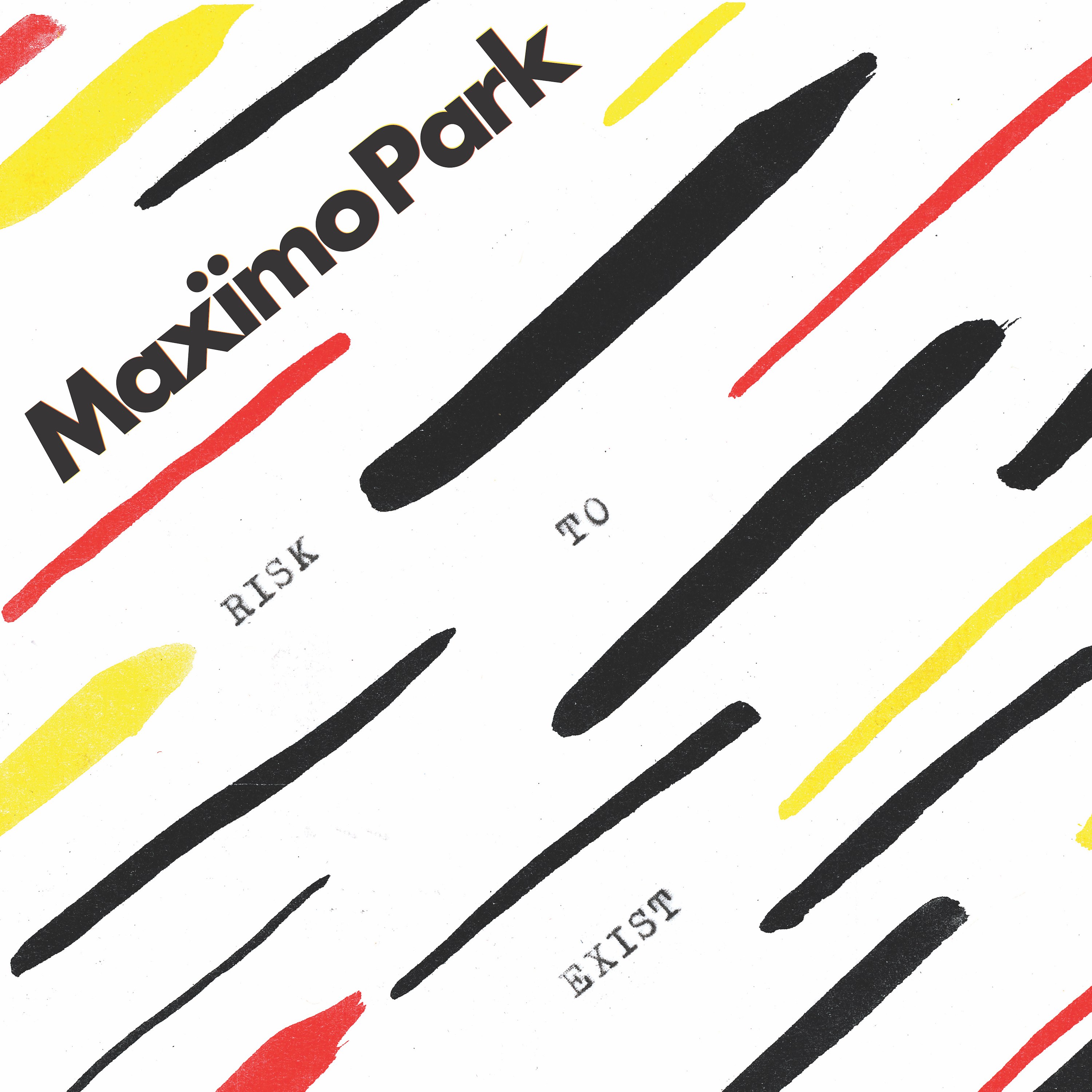 Maximo Park Risk To Exist artwork