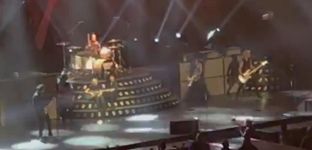WATCH: Billie Joe Armstrong Gives Guitar To Disabled Fan - Radio X