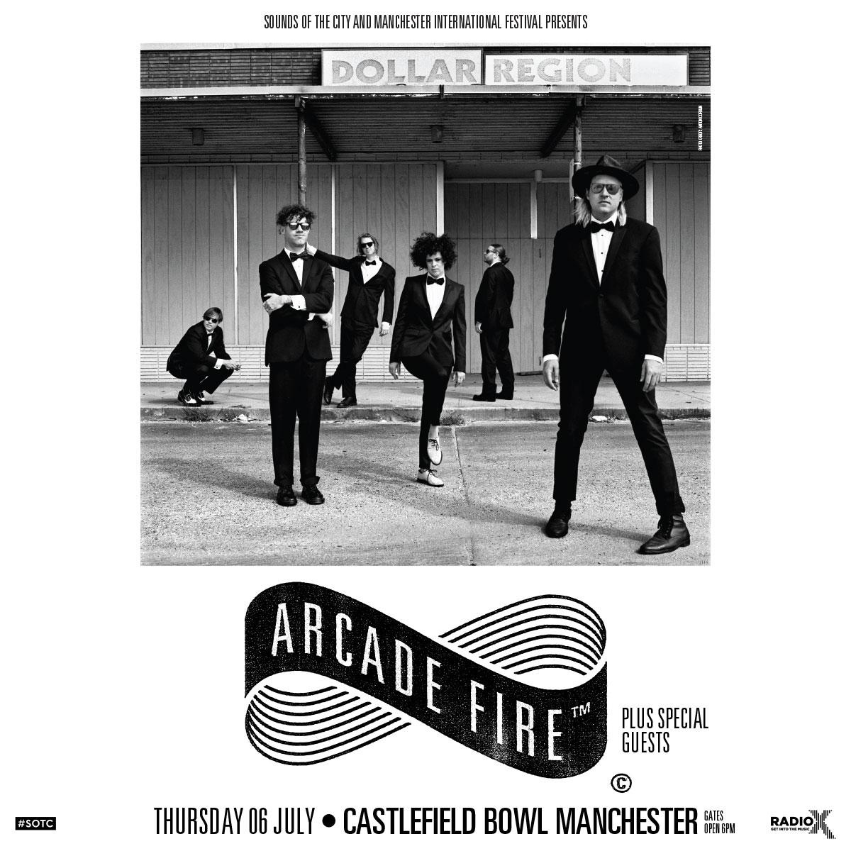 Arcade Fire SOTC 2017 poster